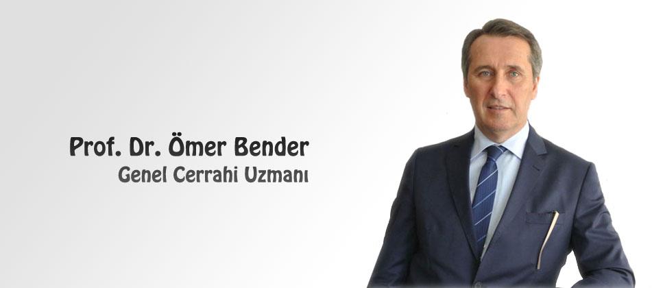Prof. Dr. �mer Bender